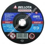Δίσκος Κοπής Inox Bellota 115x22,2x1,0