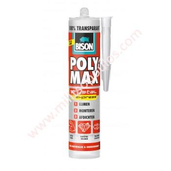 Κόλλα Bison Polymax Express Διάφανη 300gr