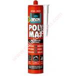Κόλλα Bison Polymax Express Λευκή 425gr