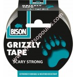 Υφασμάτινη Επισκευαστική Ταινία Γκρι Bison Grizzly Tape 10m 6312497
