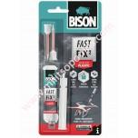 Κόλλα Bison Fast Fix Plastic 10g