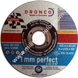 Δίσκος Κοπής Inox Dronco 115x22,2x1,0 A60R