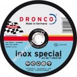 Δίσκος Κοπής Inox Dronco 180x22,2x1,6 AS46T