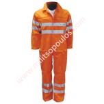 Φόρμα Εργασίας Πορτοκαλί 04.02.0260
