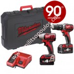 Δράπανο Milwaukee M18 BPP2C