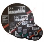 Δίσκος Κοπής Inox Scorpion 115x22,2x1,2