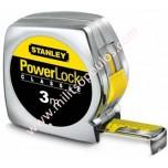 Μέτρο Stanley Powerlock Κέλυφος ABS 3m