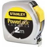 Μέτρο Stanley Powerlock Κέλυφος ABS 2m