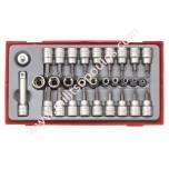 Κασετίνα Καρυδάκια 3/8'' Tengtools TTTX30